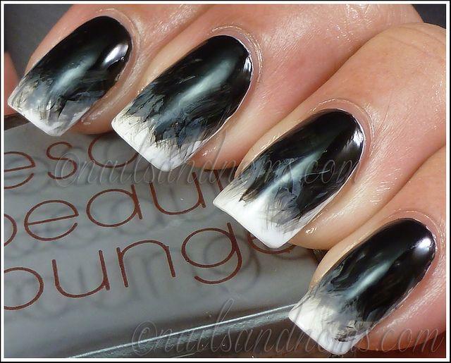 die besten 25 schwarze manik re ideen auf pinterest schwarzer nagellack matte schwarze n gel. Black Bedroom Furniture Sets. Home Design Ideas