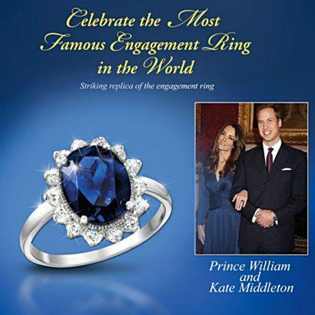 Enjoyable Matching Earrings To The Kate Middleton Engagement Ring Replica Short Hairstyles Gunalazisus