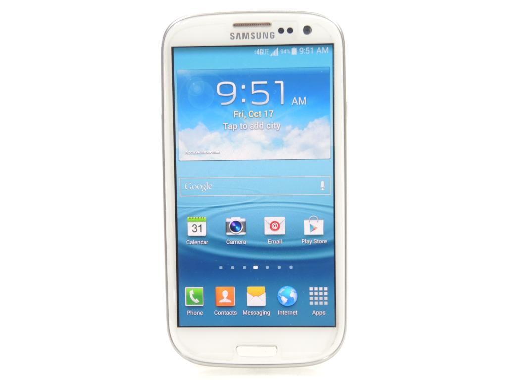 Smartphone With Accessories, Samsung Galaxy S3 16GB (Sprint)