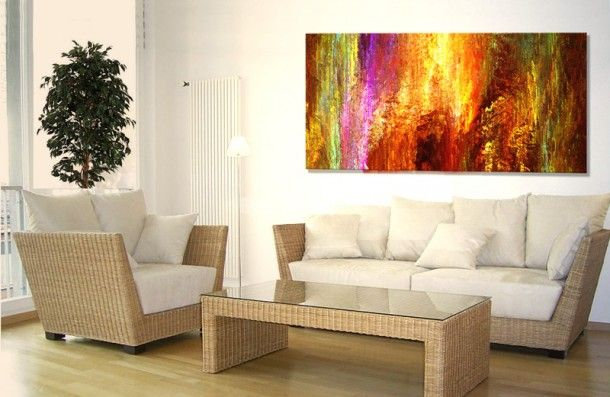 Abstract Art Rattan Living Room Furniture X Nonfigurative Part 56