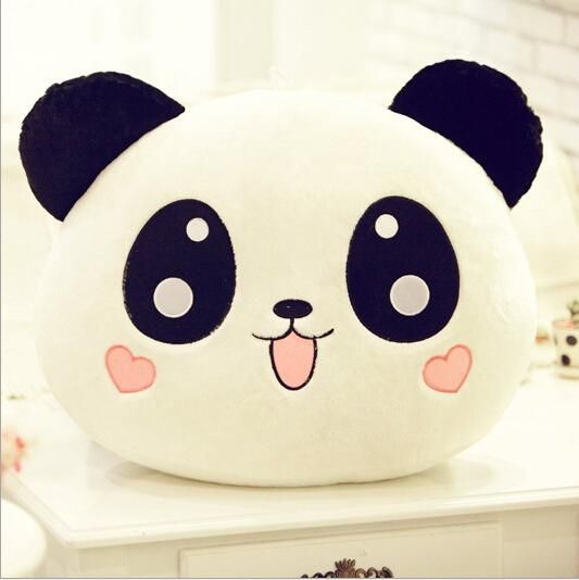 Large Panda Pillow #toydoll