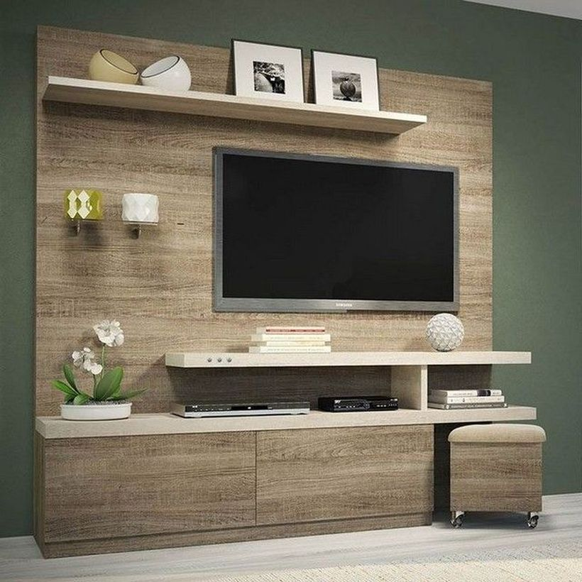 46 Rustic Tv Wall Design Ideas For Home Tv Wall Design Trendy Living Rooms Living Room Tv Wall