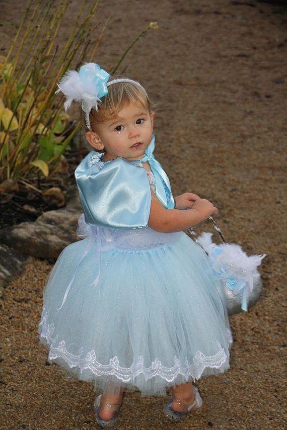 Cinderella Costume, Cinderella Tutu, Blue Tutu, Blue Tutu Dress, Tutu, Princess Tutu, Pumpkin Bucket, Trick or Treat, Halloween, OOC