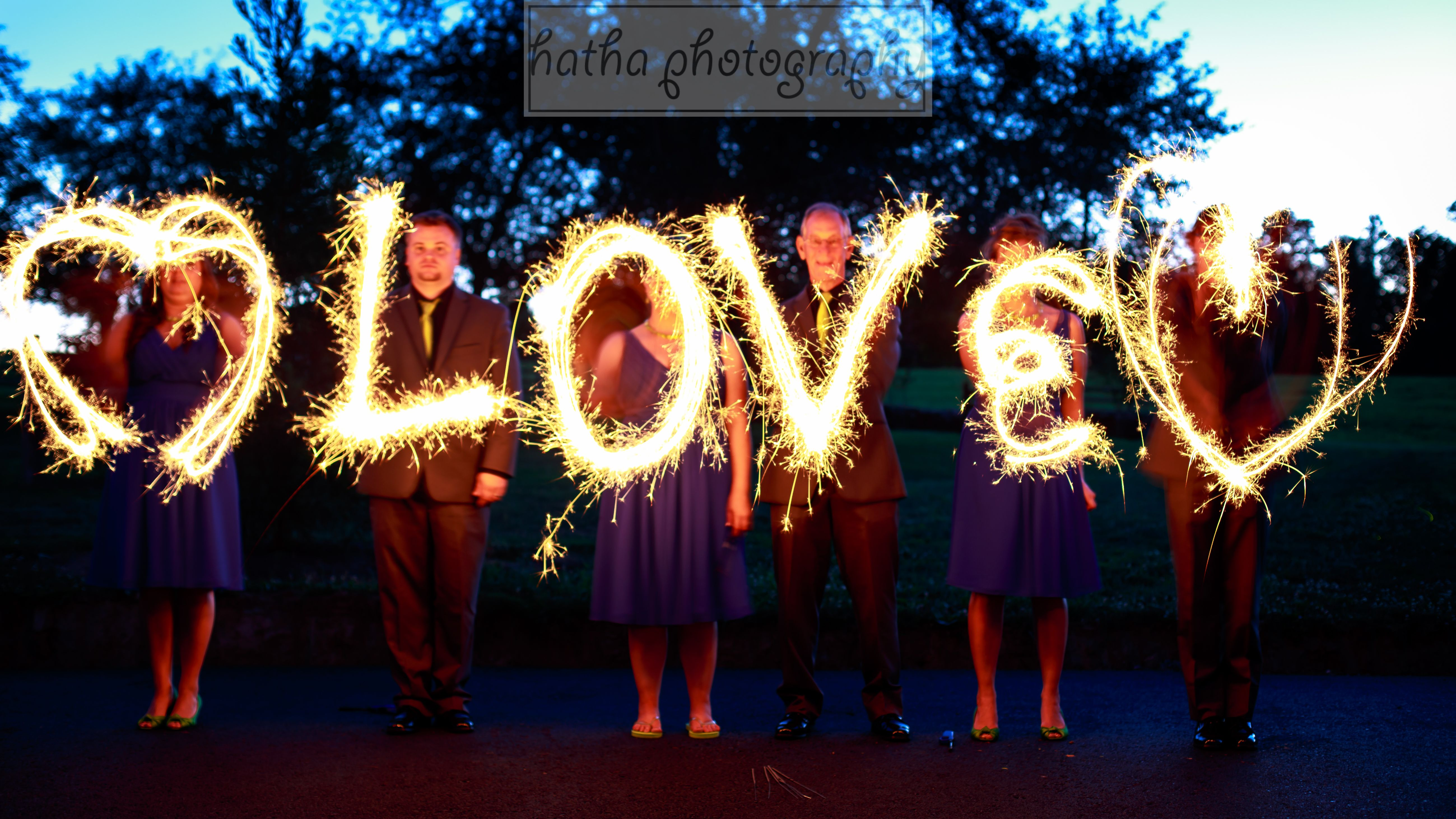 """Love is friendship set on fire.""~~~Jeremy Taylor  #wedding #love #sparklers"