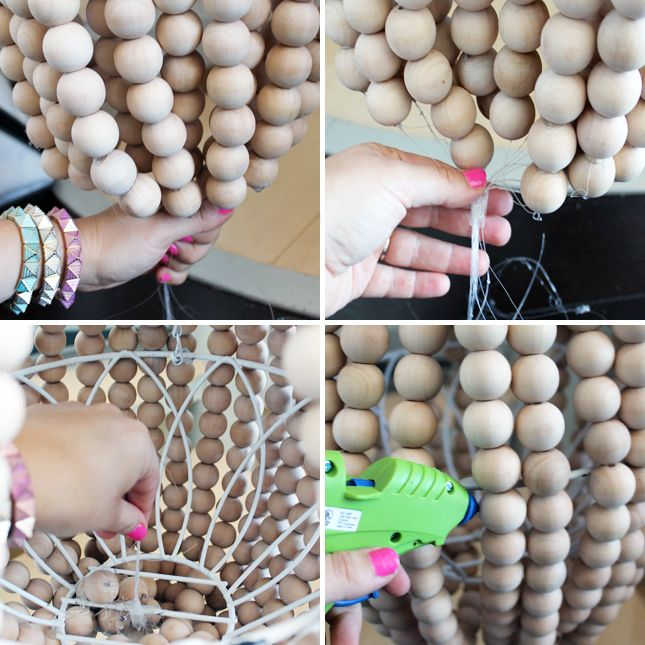 How to make a wooden chandelier chandeliers and diy chandelier diy chandelier aloadofball Images