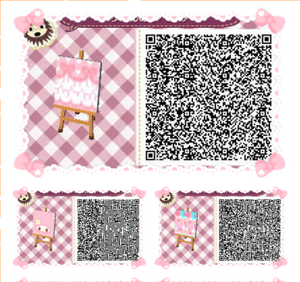 Cute Pink Foo Foo Path Set 1 Acnl Path Accent Tilesdesigns