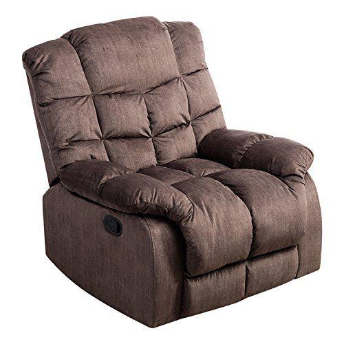 Surprising Bonzy Recliner Chair With Over Stuff Backrest Wide Seat Spiritservingveterans Wood Chair Design Ideas Spiritservingveteransorg