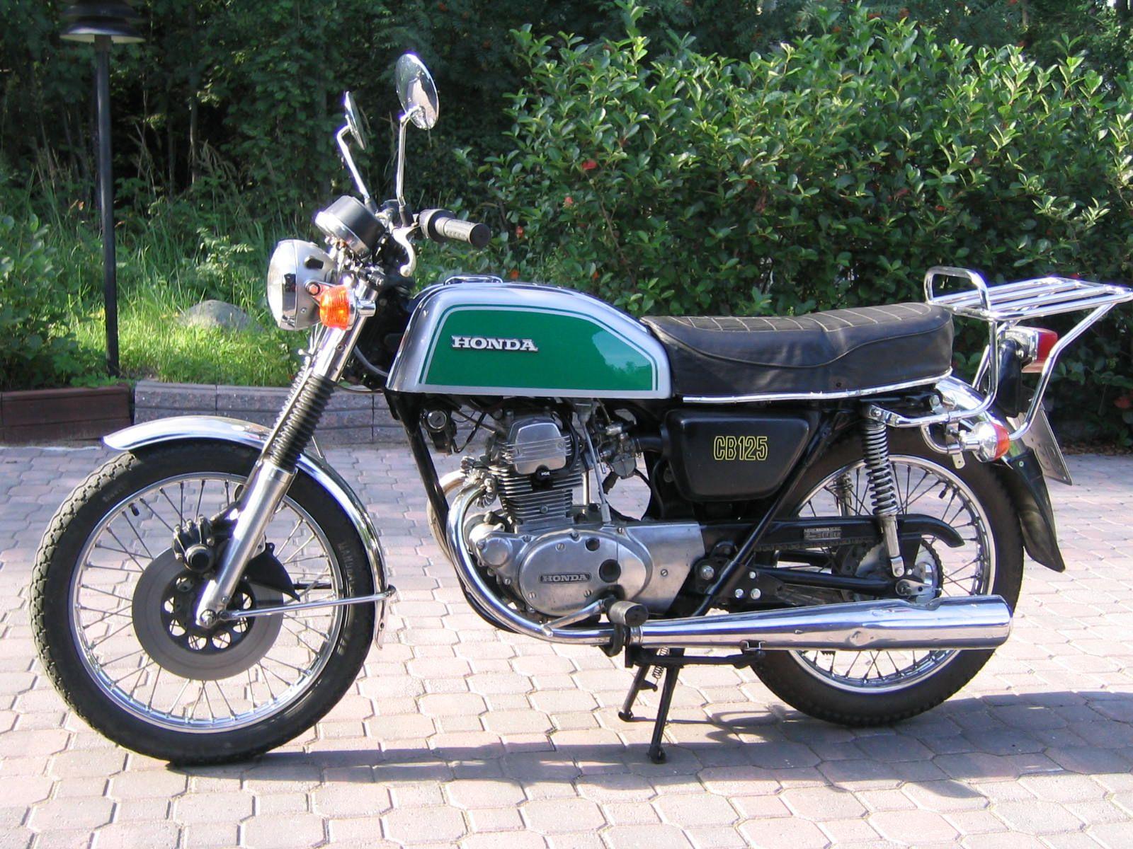Honda Cb125 Honda Bikes Honda