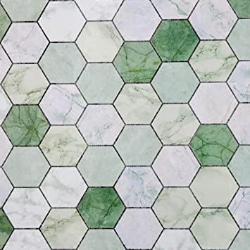 Amazon Com Practicalws 24 X 118 Green Kitchen Backsplash Wallpaper Waterproof Oil Wallpaper Backsplash Kitchen Green Kitchen Backsplash Backsplash Wallpaper