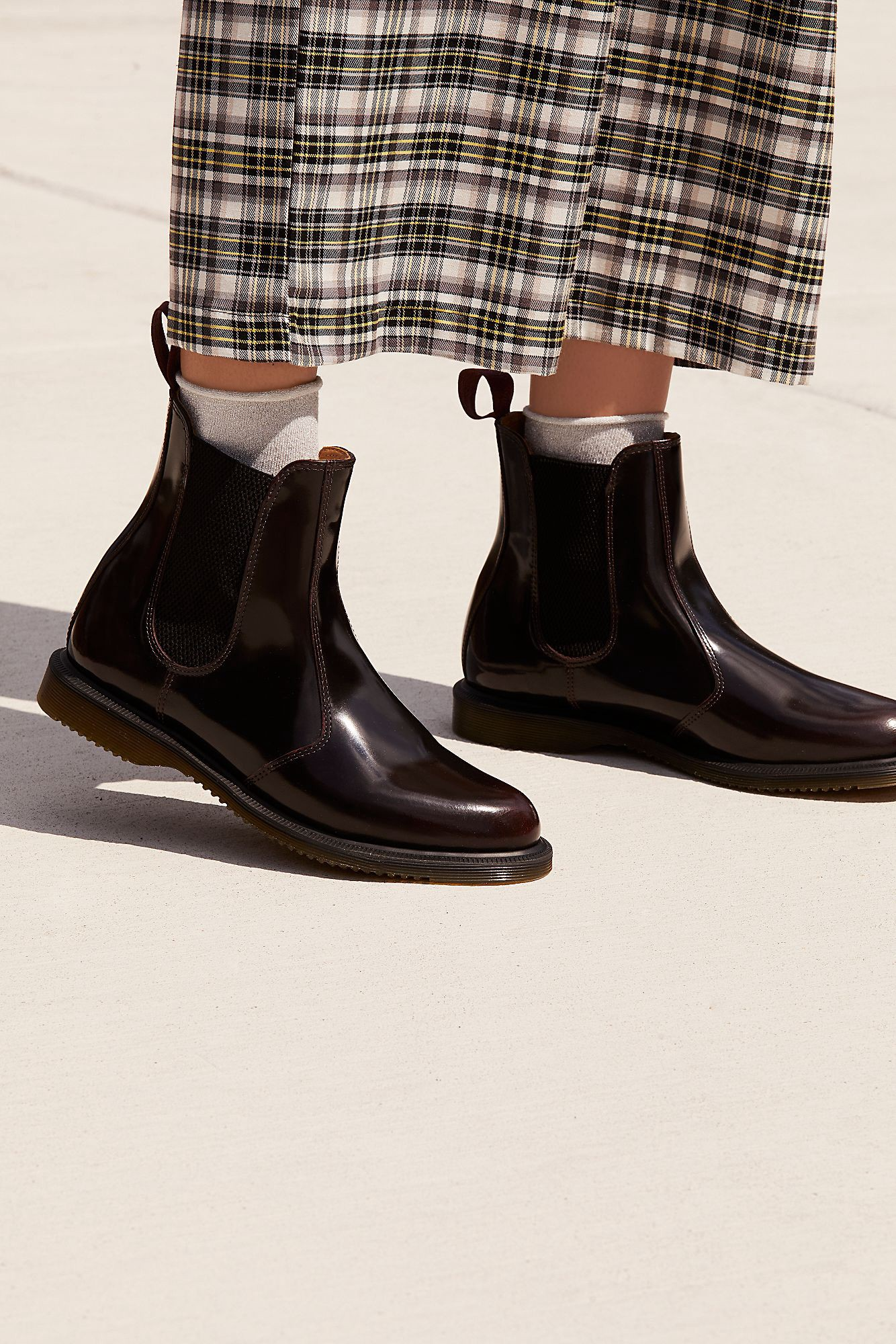 Chelsea boots véganes | DR. MARTENS Flora Chelsea Boot Black