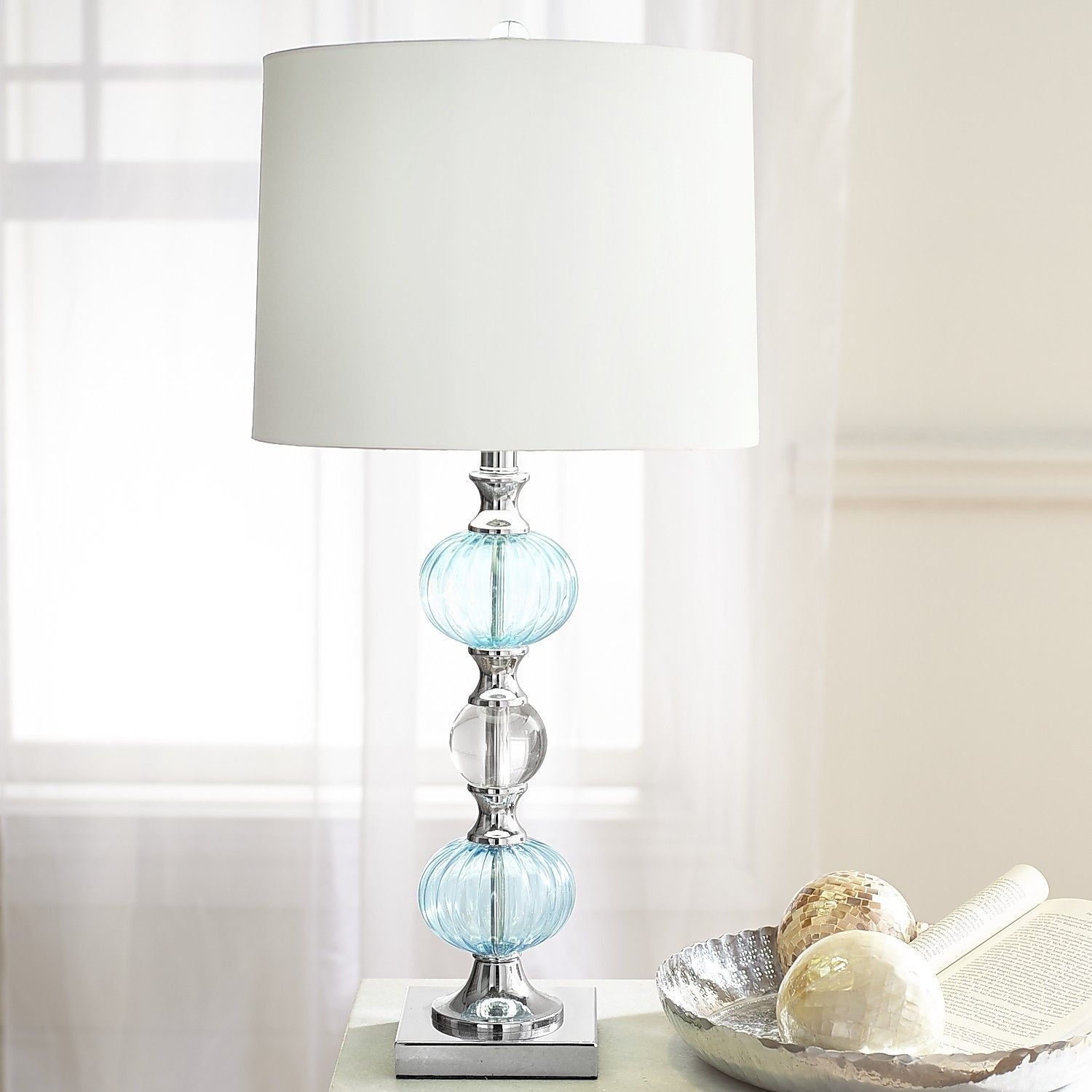 aqua ceramic lamp product kuo beach perugia detail blue green kathy table glazed coastal home