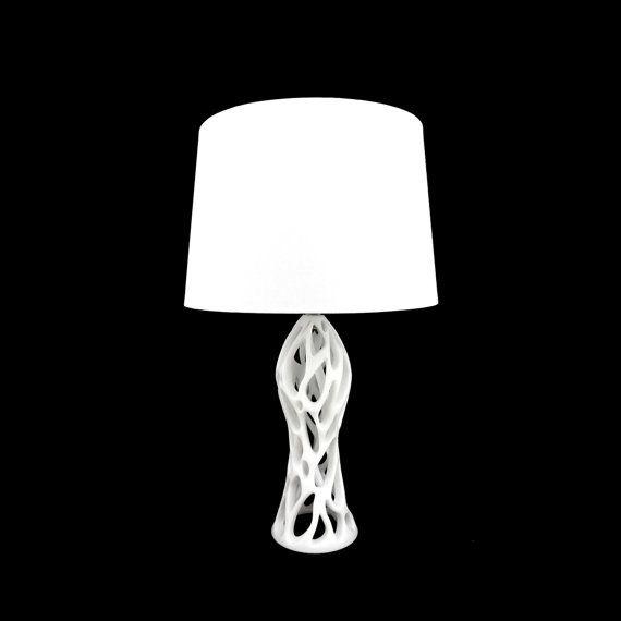 Fracta Natura 3d Printed Table Lamp Lamp Table Lamp Prints