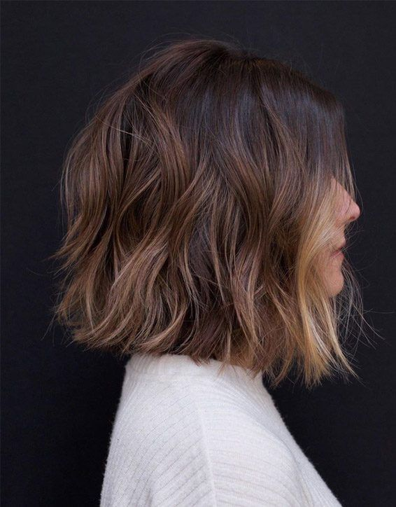Pretty Lob Haircuts for Short Hair In 2019