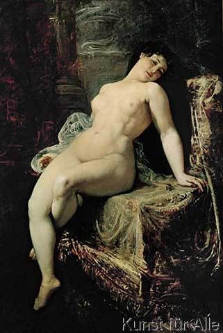 Ramon Marti y Alsina - Desnudo Femenino