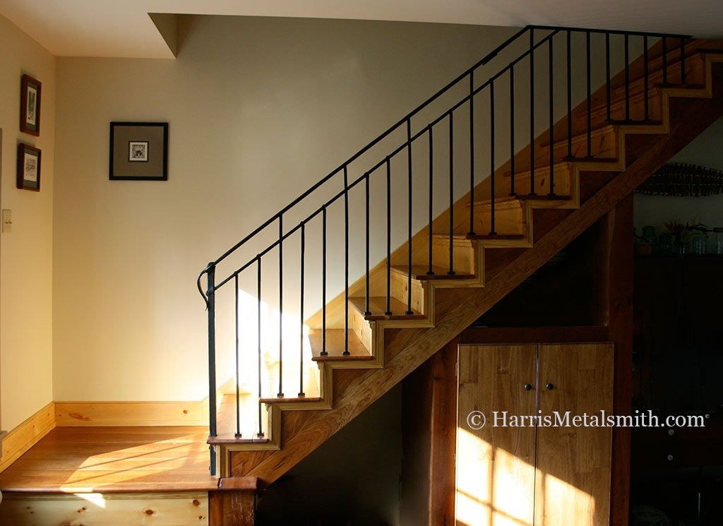 Craftsman Iron Stairway Railings Style Wrought Railing