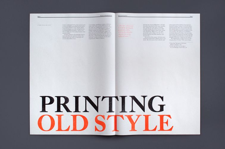 Extra Condensed No.1   The Counter Press. The aim was to use this traditional, and now fairly exclusive process, to create a contemporary and accessible piece of editorial design.