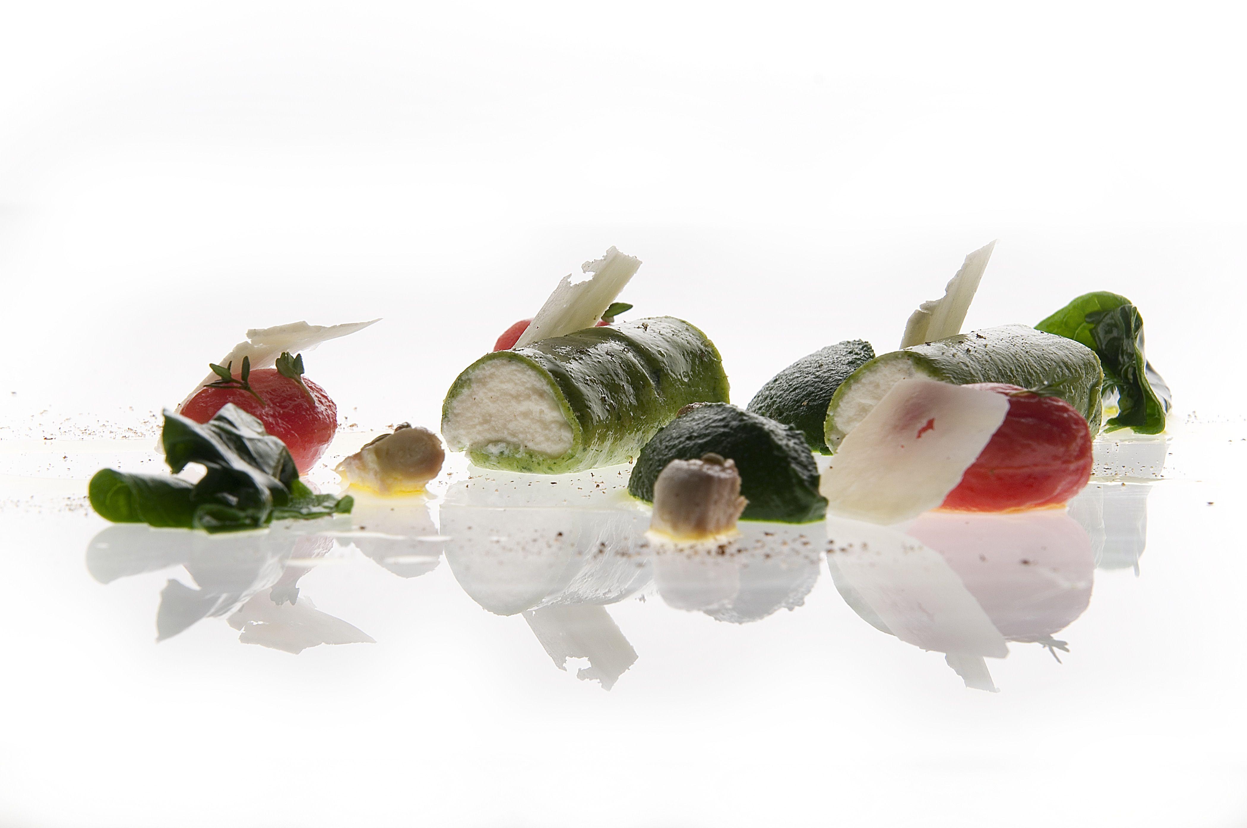 Cannolo di Ricotta e Spinaci. Irresistible interpretation of our Michelin chef Riccardo Di Giacinto www.thefirsthotel.com