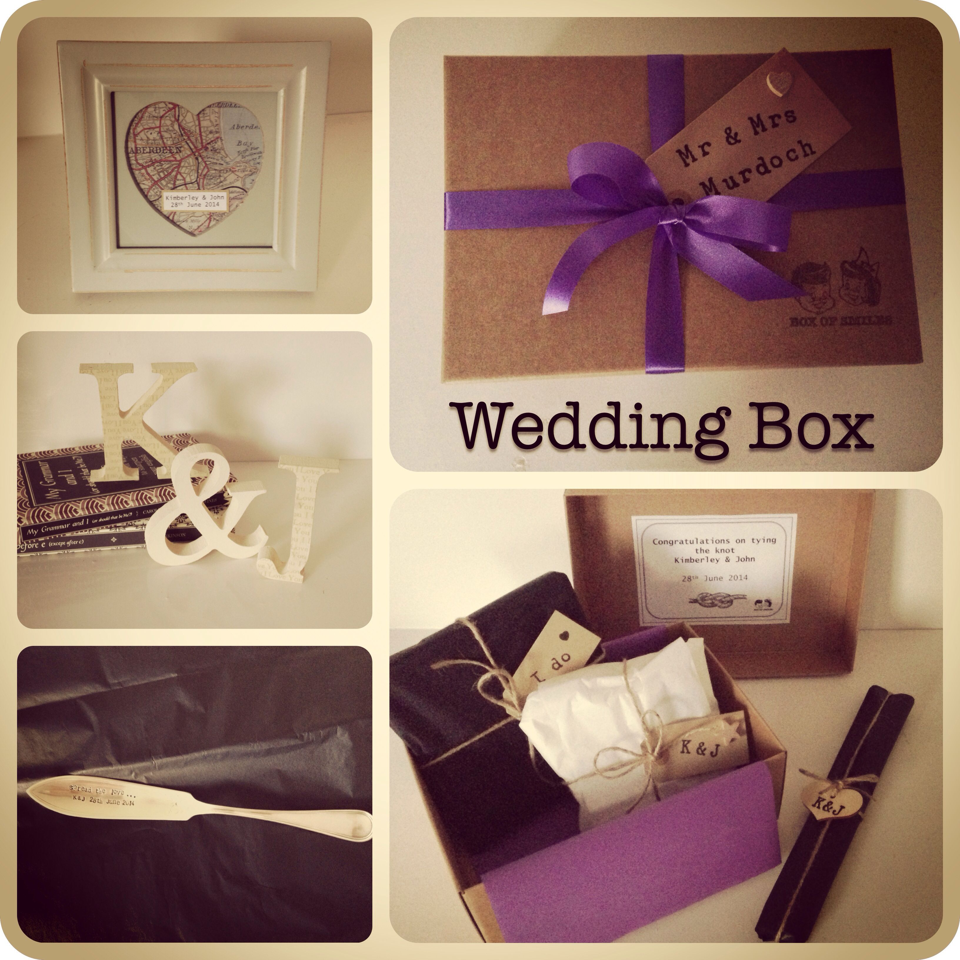 Wedding gift idea from www.box-of-smiles.co.uk www.facebook.com/boxofsmiles79