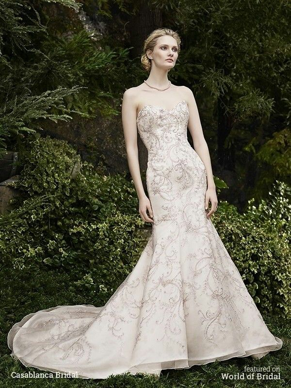 Pin On Wedding Dresses Nude And Champagne