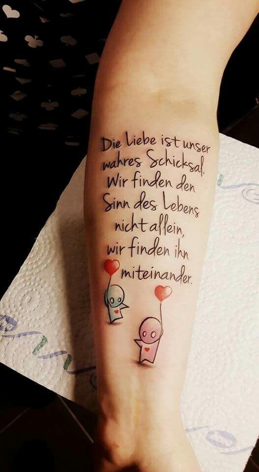 Tattoo Ideen Liebe Ideen Liebe Tattoo Tattooideen Zitat
