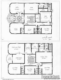 نتيجة بحث الصور عن مخطط فيلا دور واحد Square House Plans House Floor Design Model House Plan
