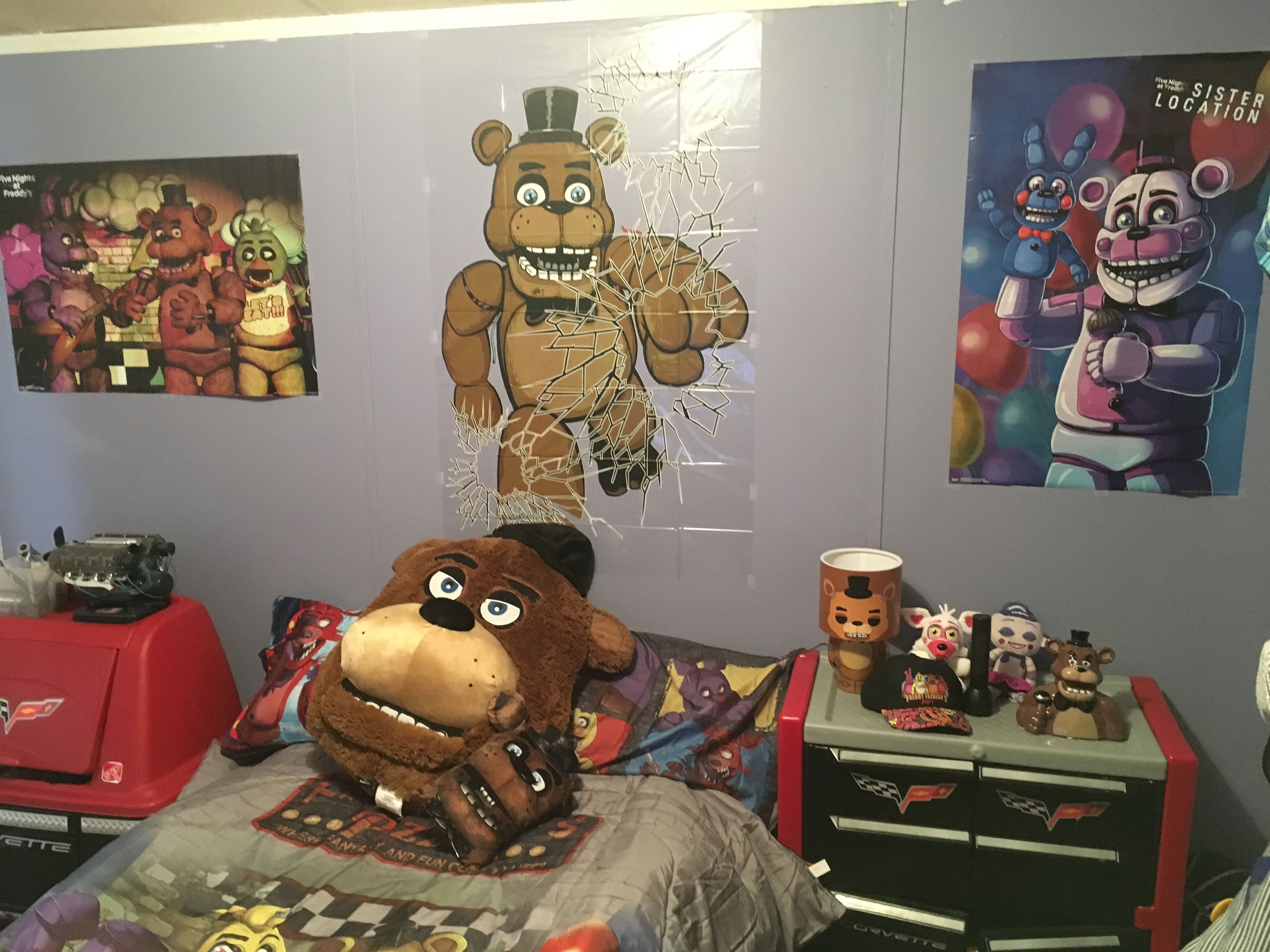 Five Nights At Freddy S Bedroom Five Nights At Freddy
