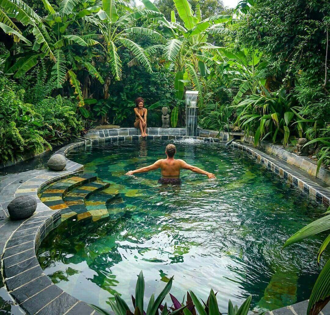 Piscina piscinas pinterest piscinas albercas y for Piscinas biologicas