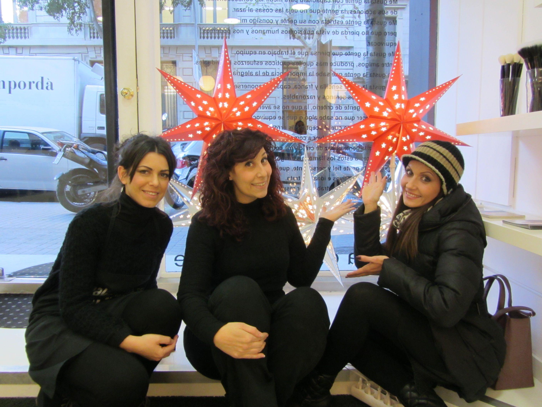 Ya está la #navidad en la escuela de #maquillaje