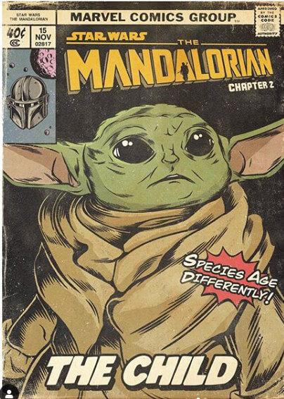 The Mandalorian representado en cómics de los años 70´s