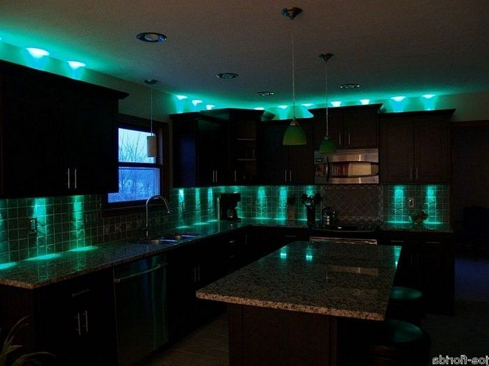 Superieur Green Under Cabinet Led Lighting Inspiration ~  Http://lanewstalk.com/beauty With The Led Under Cabinet Lighting/