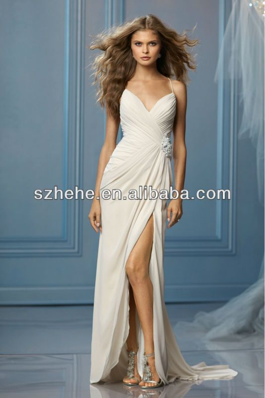 wedding dresses with side splits - Google Search
