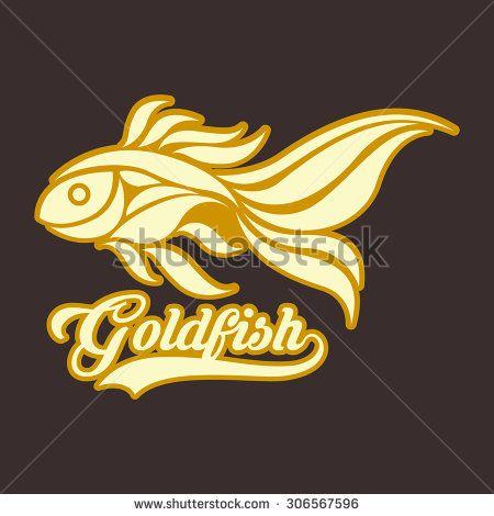 Ilovecoffeedesign S Portfolio On Shutterstock Fish Sketch Goldfish Fish Illustration
