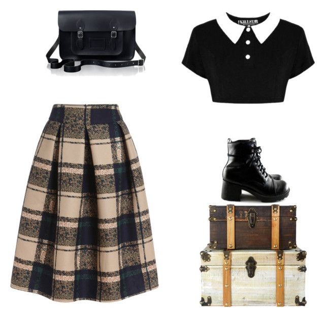 """""""vintage"""" by nicoleluiseluciano on Polyvore featuring moda, The Cambridge Satchel Company e vintage"""