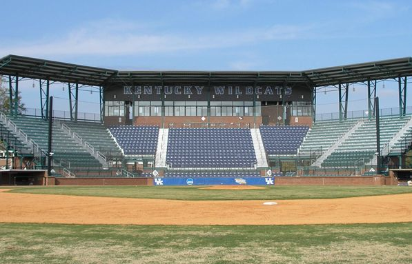 Cliff Hagan Stadium Is The Kentucky Baseball Teams Field I Am Not Too Sure About Our Baseball Team What Kind Of Attendance Stadium Baseball Team Tennis Court