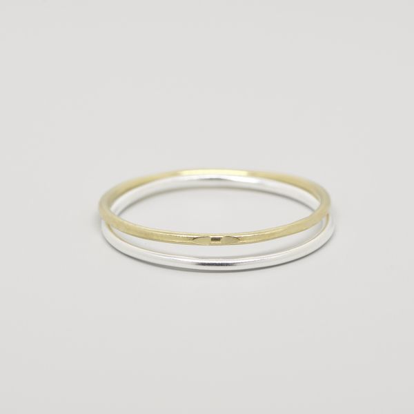 Photo of fejn jewelry Ring 'Bicolor Set'
