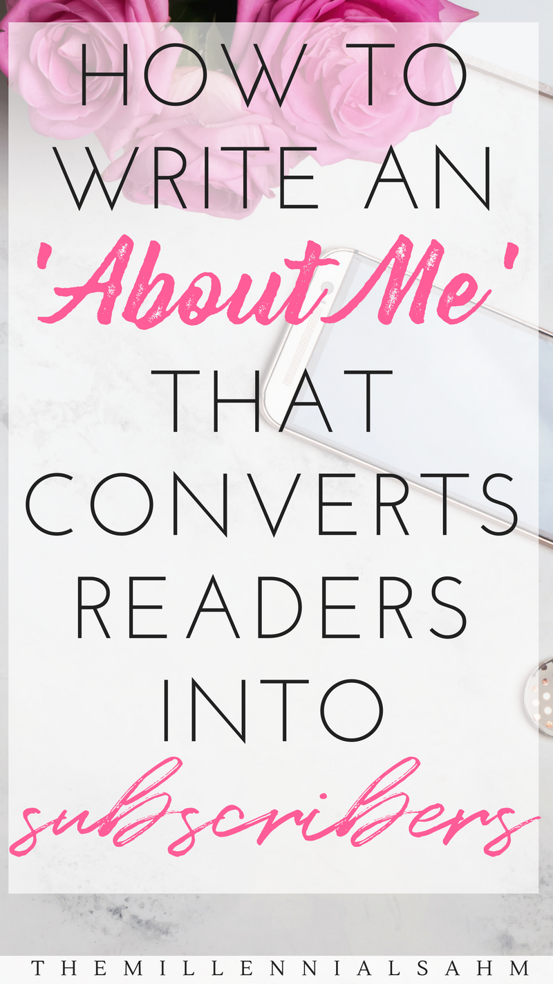 5 Elements Of An 'About Me' Page That Converts - T