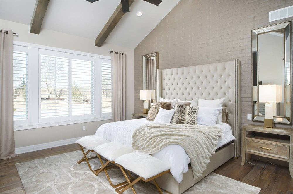 101 Transitional Primary Bedroom Ideas Photos Beige Bedroom Decor Beige Bedroom Bedroom Decor