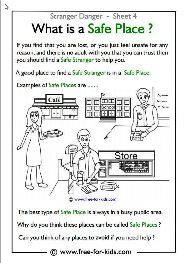 Practicing Stranger Danger Skills #strangerdanger