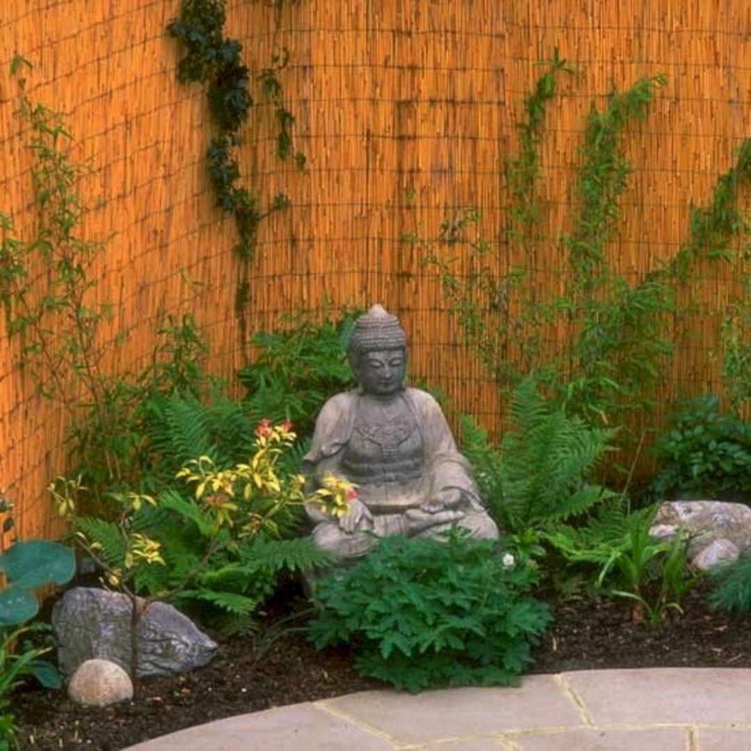 35 Awesome Buddha Garden Design Ideas For Calm Living Freshouz Com Buddha Garden Zen Garden Zen Garden Diy