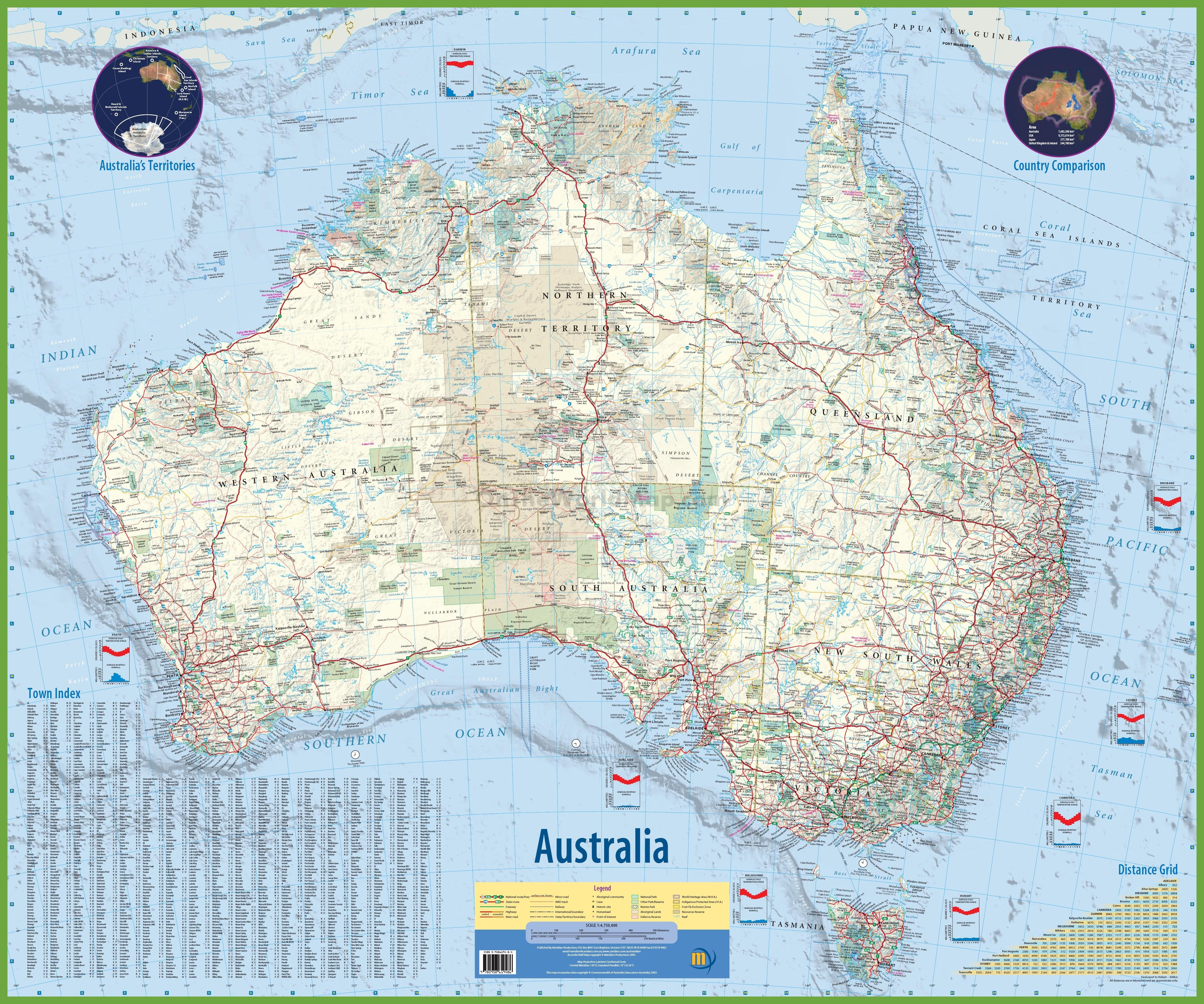Australia Map With Cities And Towns.Large Detailed Map Of Australia With Cities And Towns Kombi Ideas