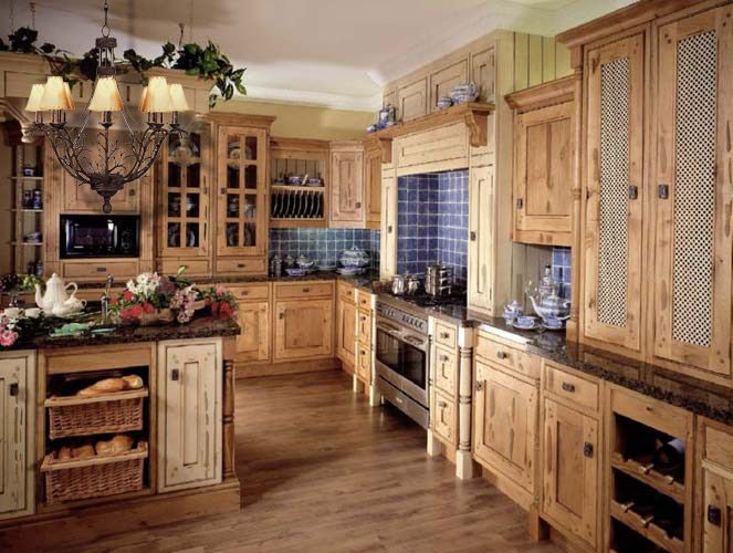 Country Kitchen Design | French Country Kitchen Designs I Like The Spanish  Tile Around The Stove