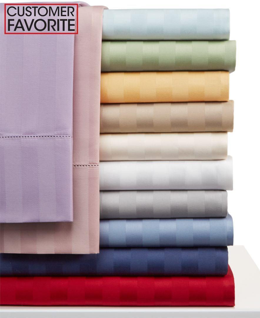 charter club damask stripe 500 thread count twin xl sheet set