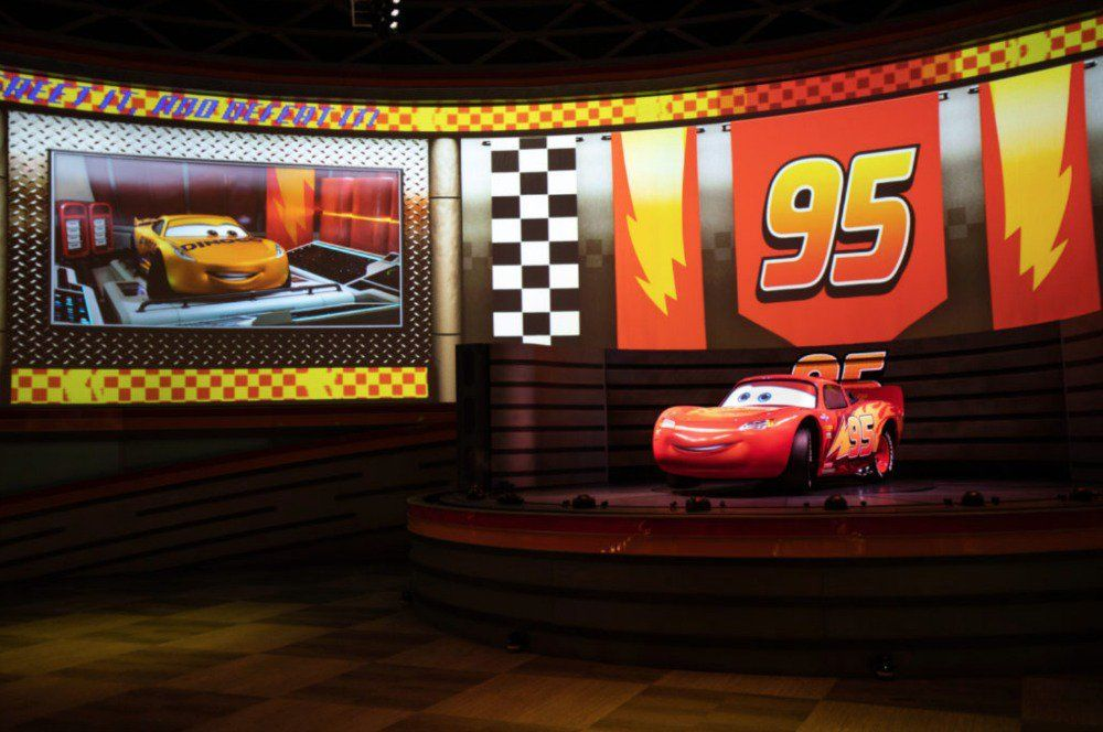 Disney Shares First Look Inside Lightning Mcqueen S Racing Academy Opening At Disney S Hollywood S Hollywood Studios Disney Hollywood Studios Lightning Mcqueen