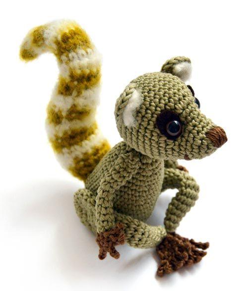 Sartu the Lemur amigurumi pattern by airali design | Muñecos de ...