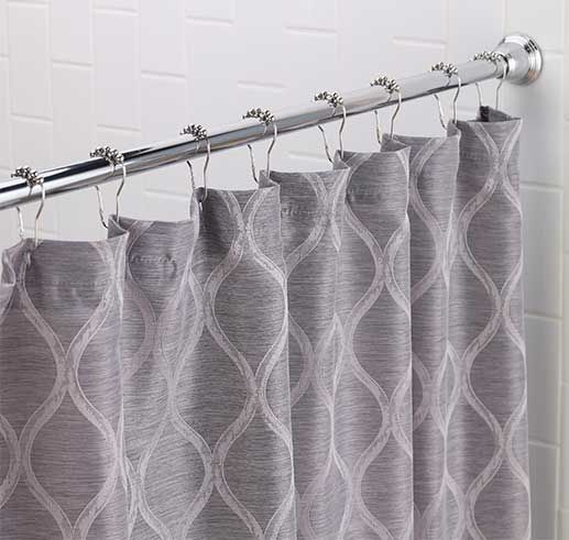 Lovely Shower Rods, Hooks And Curtains From Tuesday Morning #seektheunique # TuesdayMorning #bathroom