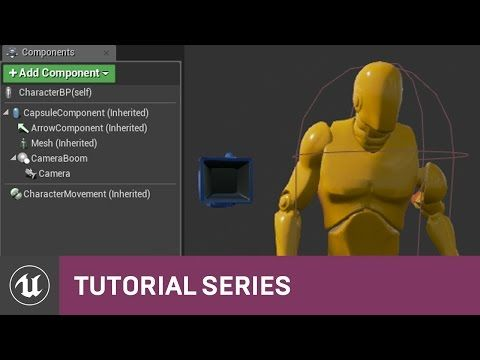Bp 3rd person game character bp components 12 v48 tutorial intro and blueprint class unreal engine 4 documentation blueprints crash course adding and changing components malvernweather Images