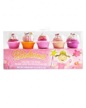 Pinkalicious 5 Piece Cupcake Lip Gloss Set