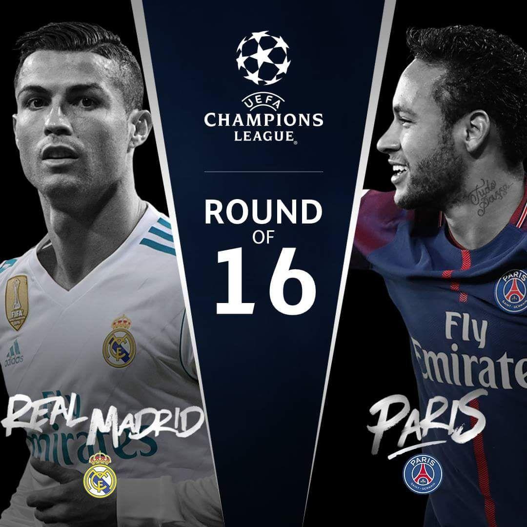 Official Champions League Last of 16 (con imágenes) Uefa
