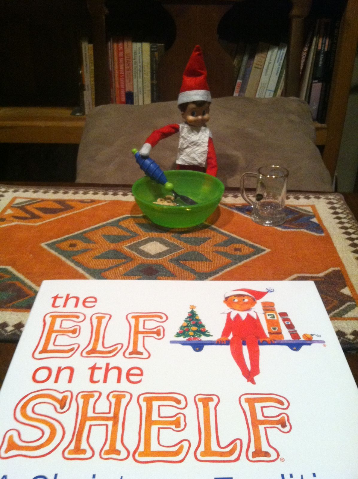 Elfontheshelf Eating Breakfast Amp Waiting For Kiddos