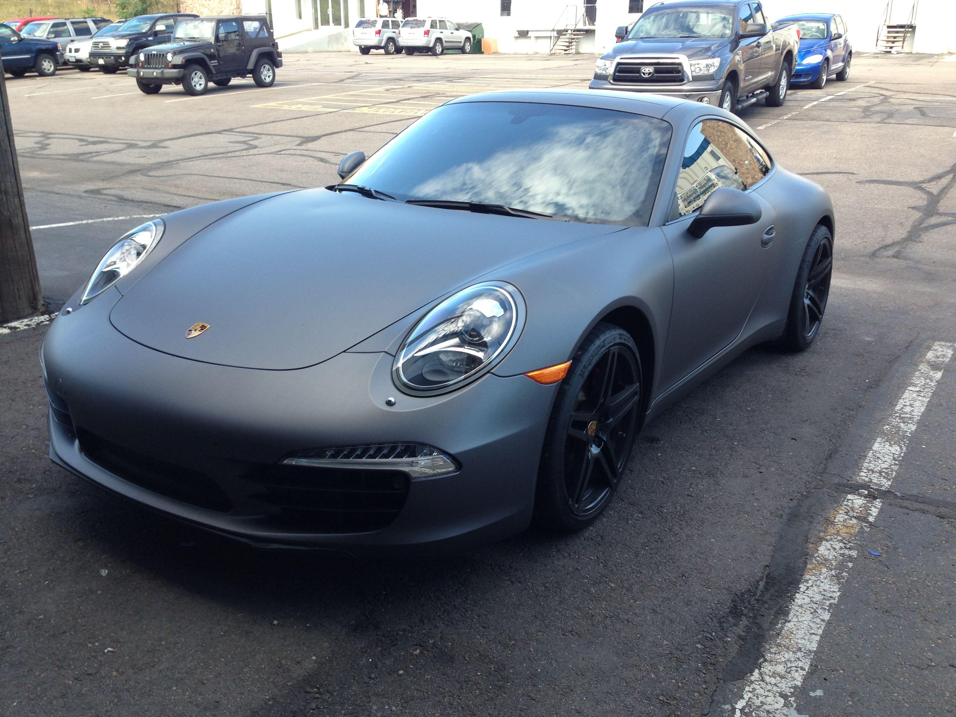 Premier graphics paint wraps vehicle wraps in denver colorado 3m matte grey metallic